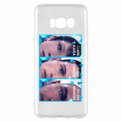 Чохол для Samsung S8 The faces of androids game Detroit: Become human