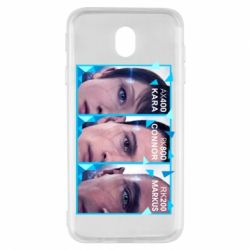 Чохол для Samsung J7 2017 The faces of androids game Detroit: Become human