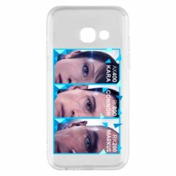 Чохол для Samsung A3 2017 The faces of androids game Detroit: Become human