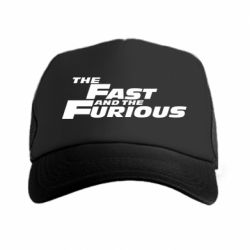 Кепка-тракер The Fast and the Furious