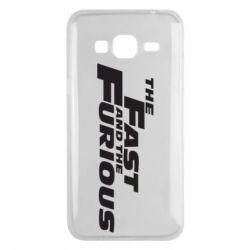 Чохол для Samsung J3 2016 The Fast and the Furious