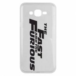 Чохол для Samsung J7 2015 The Fast and the Furious