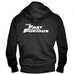 Мужская толстовка на молнии The Fast and the Furious