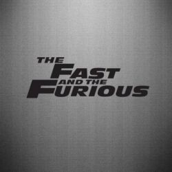 Наклейка The Fast and the Furious