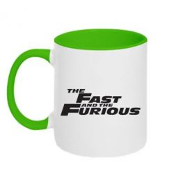 Кружка двоколірна 320ml The Fast and the Furious
