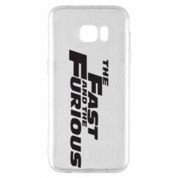 Чохол для Samsung S7 EDGE The Fast and the Furious