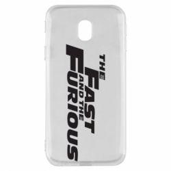 Чохол для Samsung J3 2017 The Fast and the Furious