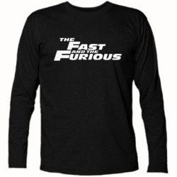 Футболка с длинным рукавом The Fast and the Furious