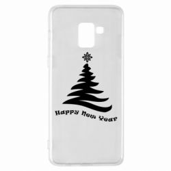 Купить DodStyle, Чехол для Samsung A8+ 2018 The fir tree is minimalist, FatLine