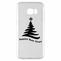 Купить DodStyle, Чехол для Samsung S7 EDGE The fir tree is minimalist, FatLine