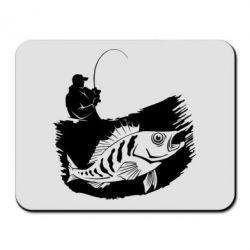 Купить Коврик для мыши The fisherman caught a fish, FatLine