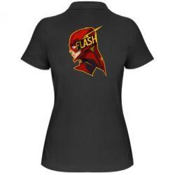 Женская футболка поло The Flash - FatLine