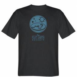 Чоловіча футболка The flat earth society