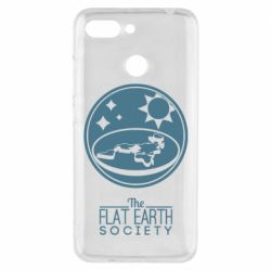 Чехол для Xiaomi Redmi 6 The flat earth society