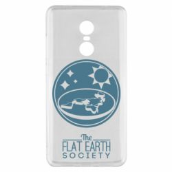 Чехол для Xiaomi Redmi Note 4x The flat earth society