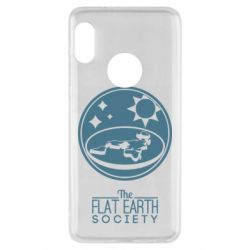 Чехол для Xiaomi Redmi Note 5 The flat earth society