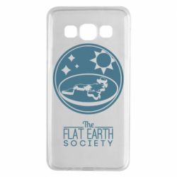 Чехол для Samsung A3 2015 The flat earth society