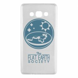 Чехол для Samsung A7 2015 The flat earth society