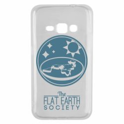 Чехол для Samsung J1 2016 The flat earth society