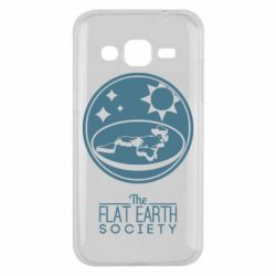 Чехол для Samsung J2 2015 The flat earth society