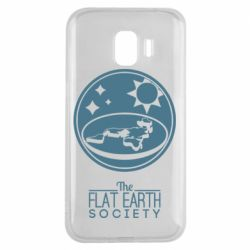 Чехол для Samsung J2 2018 The flat earth society