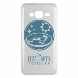 Чехол для Samsung J3 2016 The flat earth society