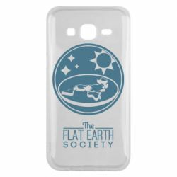 Чехол для Samsung J5 2015 The flat earth society