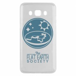 Чехол для Samsung J5 2016 The flat earth society