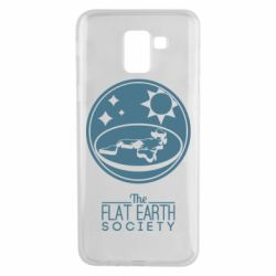 Чехол для Samsung J6 The flat earth society
