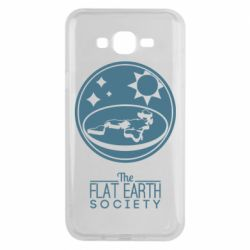 Чехол для Samsung J7 2015 The flat earth society