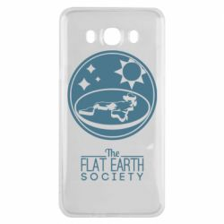 Чехол для Samsung J7 2016 The flat earth society