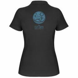 Жіноча футболка поло The flat earth society