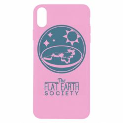 Чехол для iPhone Xs Max The flat earth society