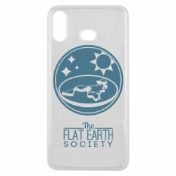 Чехол для Samsung A6s The flat earth society
