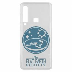 Чехол для Samsung A9 2018 The flat earth society