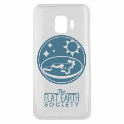 Чехол для Samsung J2 Core The flat earth society