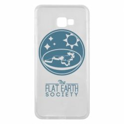 Чехол для Samsung J4 Plus 2018 The flat earth society
