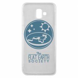 Чехол для Samsung J6 Plus 2018 The flat earth society