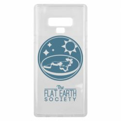 Чехол для Samsung Note 9 The flat earth society