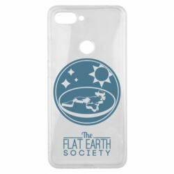 Чехол для Xiaomi Mi8 Lite The flat earth society