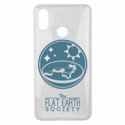 Чехол для Xiaomi Mi Max 3 The flat earth society