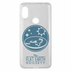 Чехол для Xiaomi Redmi Note 6 Pro The flat earth society
