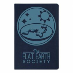 Блокнот А5 The flat earth society