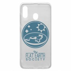 Чехол для Samsung A30 The flat earth society