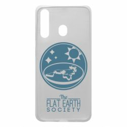 Чехол для Samsung A60 The flat earth society