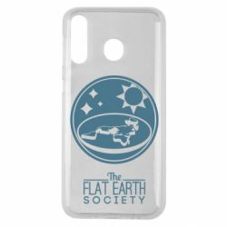 Чехол для Samsung M30 The flat earth society