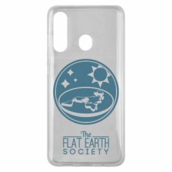 Чехол для Samsung M40 The flat earth society