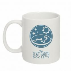 Кружка 320ml The flat earth society