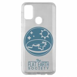 Чехол для Samsung M30s The flat earth society