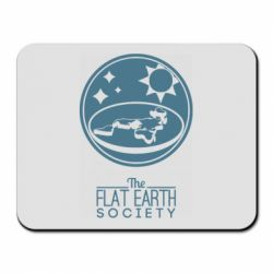 Килимок для миші The flat earth society
